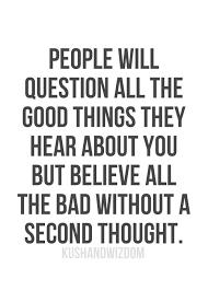 belief in bad